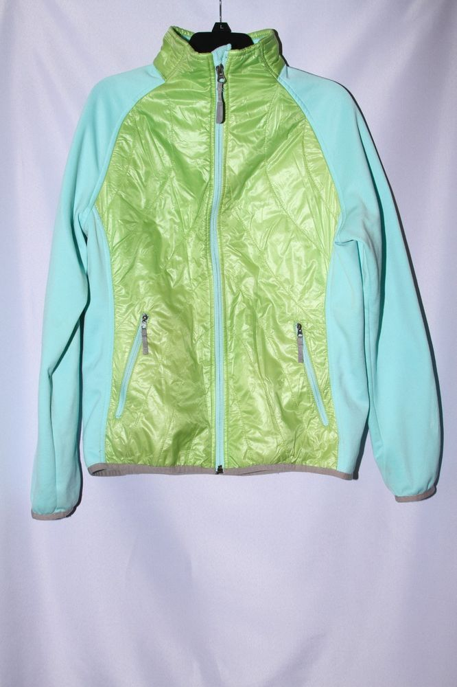 46f056bf083d The North Face Girls Denali Jacket Green Turquoise Girls XL (18 ...