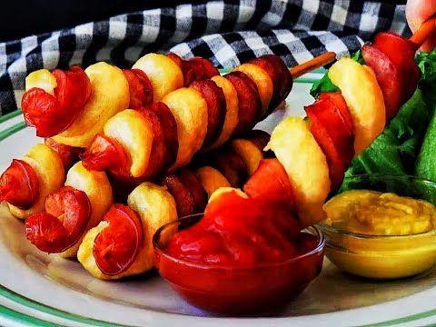 Tornado Hot Dogs -  Cuocere anche in forno