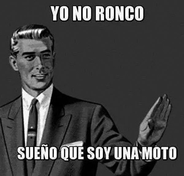 Yo no ronco. #humor #risa #graciosas #chistosas #divertidas