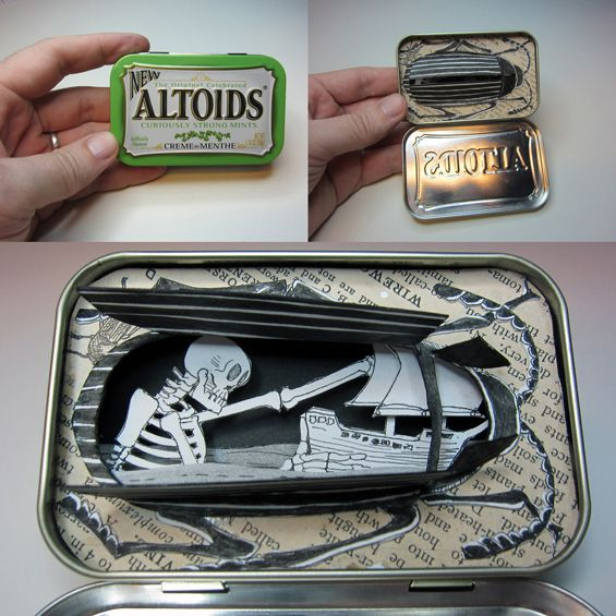Jim Doran's Miniature Dioramas  Time to start saving those tins again...