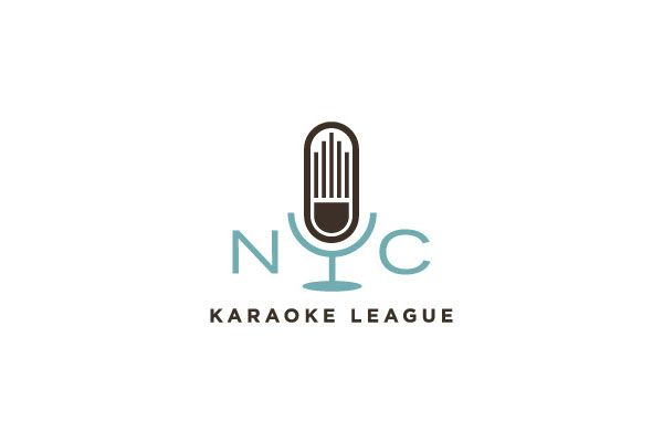 Logo Design by Wallace Design House for NYC Karaoke League