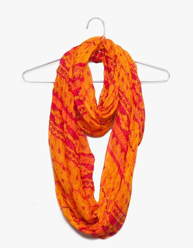 Pañuelo circular orange