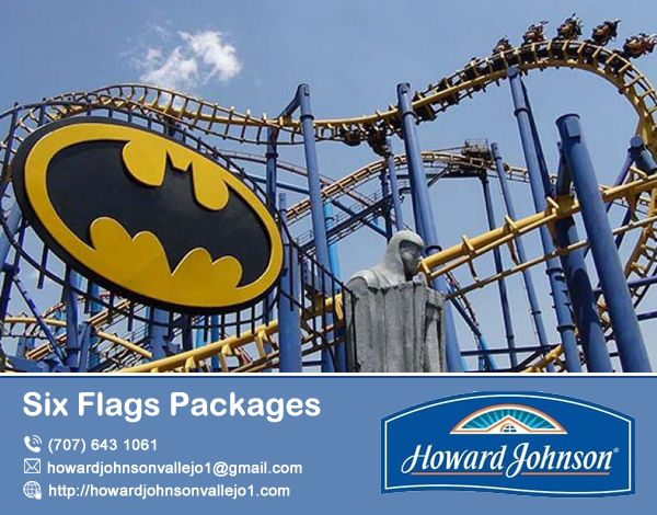 Howard Johnson Vallejo offer attractive  #Six_Flags_Packages for your family and friend. Visit At:- http://bit.ly/2xuT4Bg