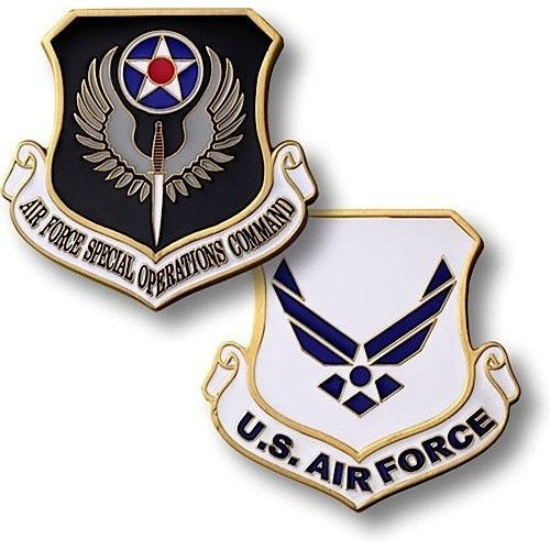 U.S. Air Force - Special Operations Command Coin