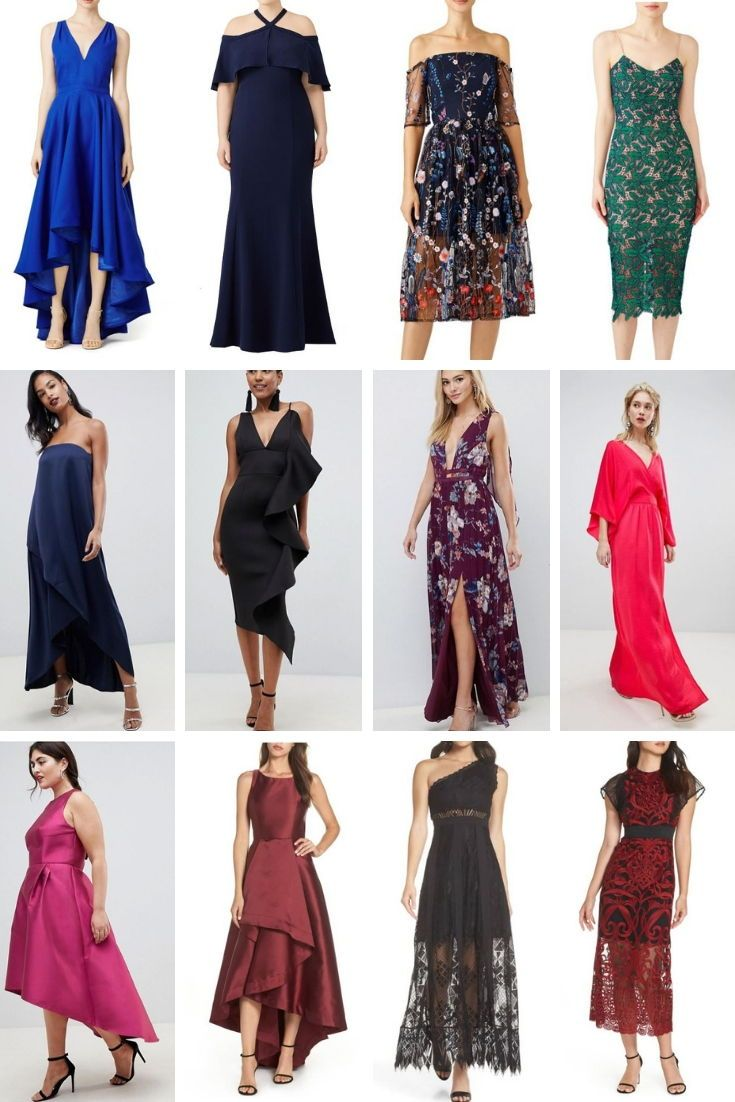 5d6a7e868f5b50 What to Wear to a Wedding: Fall 2018-Spring 2019. Inclusive shopping guide  with dresses and jumpsuits ranging from size 0-32, casual to formal.