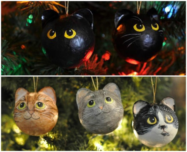 Cute Cat Christmas Tree