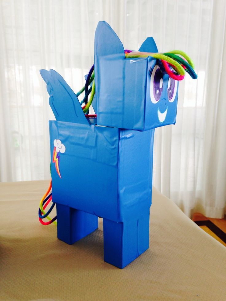 Valentine Box Rainbow Dash My Little