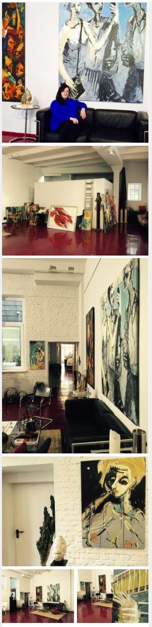 Heute Vormittag war ich zu Gast bei Gaby Arnemann in der Galerie Zeitlos. Das 1991 eröffnete Haus für zeitgenössische Kunst und exklusive Rahmungen hat sich in den Jahren seines Bestehens zum beliebten Anlaufpunkt für Kunstfreunde im den Raum Unna und Dortmund entwickelt. GALERIE ZEITLOS: www.galerie-kamen.de ----- #KunstRoute #KunstBlogger #Route53 #StuartNicol #Art #Kunst #Künstler #Artist #galerie #gallery #ausstellung #vernissage