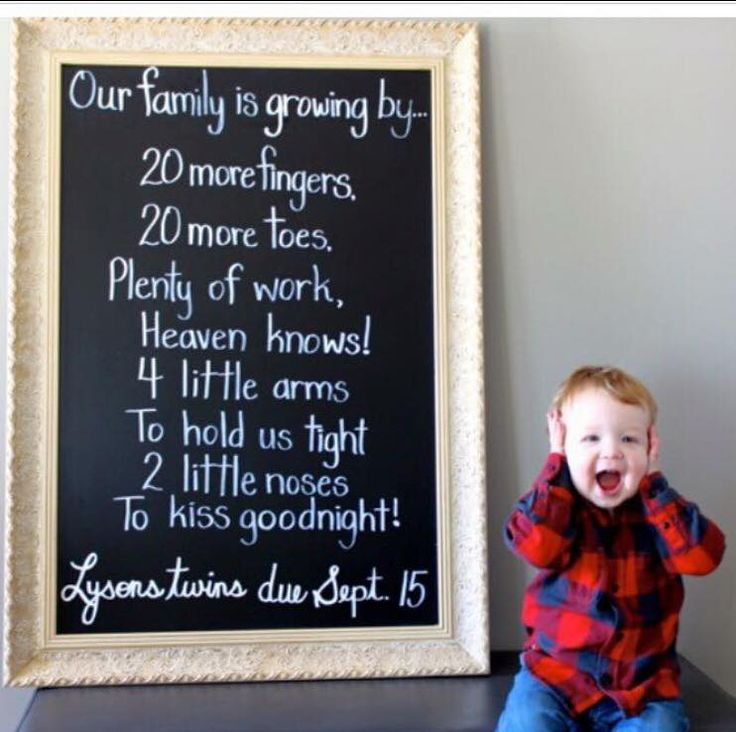 Best 25 Twin pregnancy announcements ideas – Cute Baby Announcements Sayings