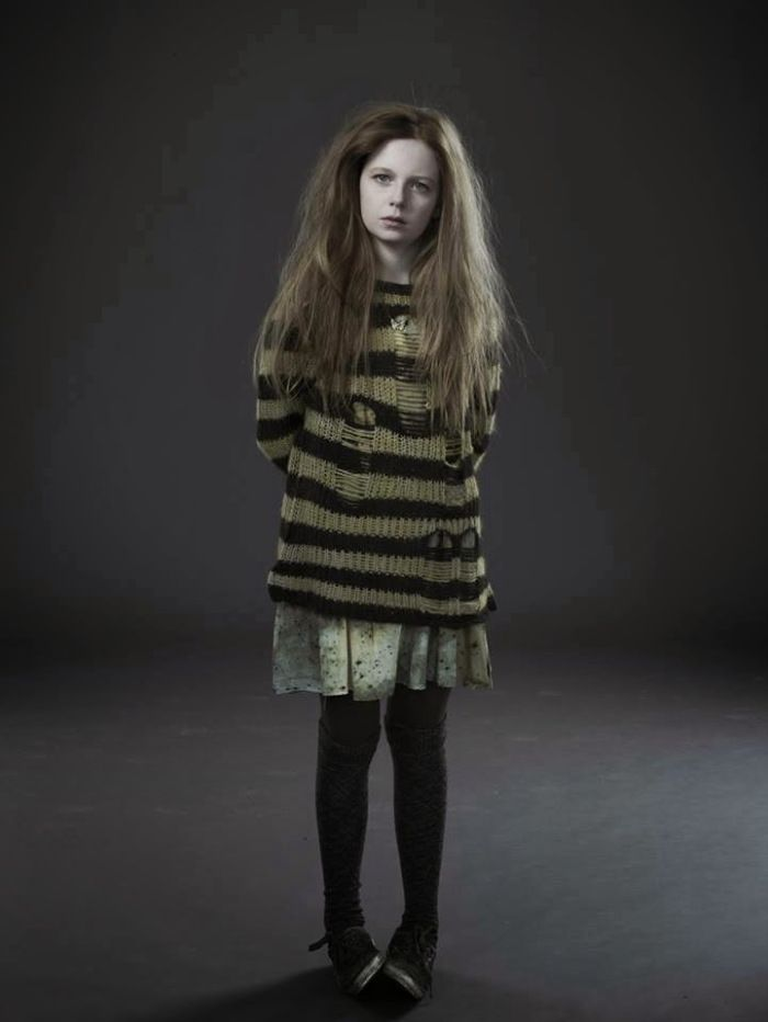 Ivy Pepper (Gotham)-poor girl :( Hard to believe she's going to grow up to be Poison Ivy!