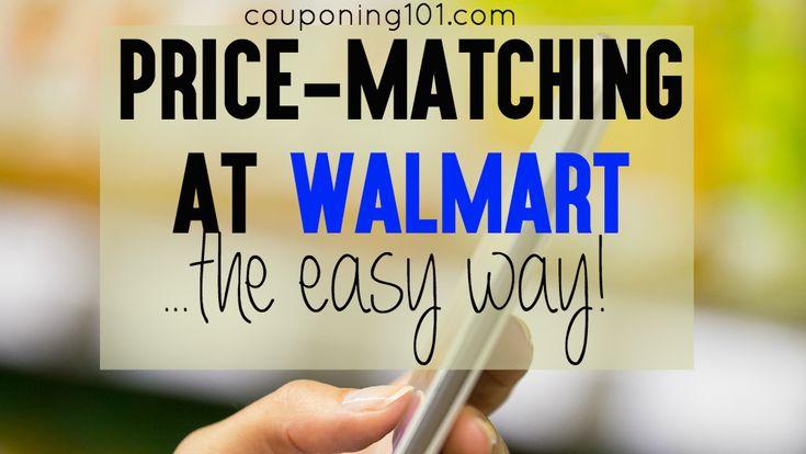 Walmart Savings Catcher PriceMatching App Price