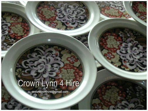 Crown Lynn /  CrownLynn  /  Aotearoa  / New Zealand  /  Crow Lynn 4 Hire ~
