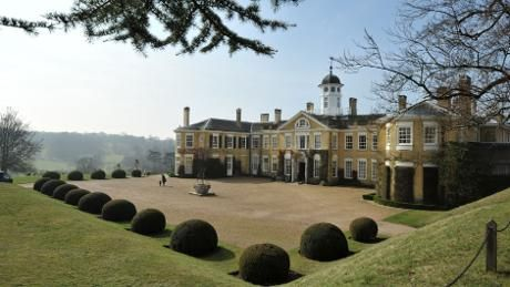 Polesden Lacey has lovely views of the rolling Surrey Hills, nat trust
