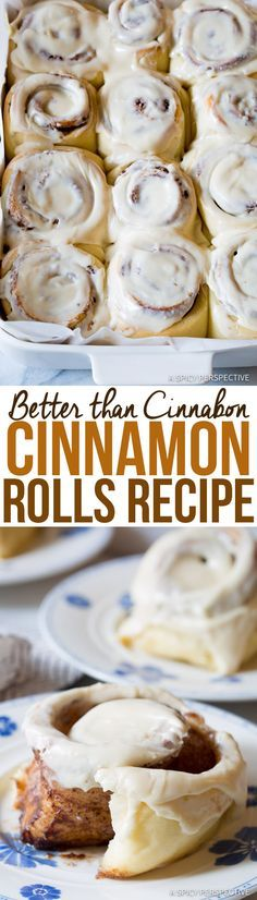 "Amazing ""Better than Cinnabon"" Cinnamon Rolls Recipe 