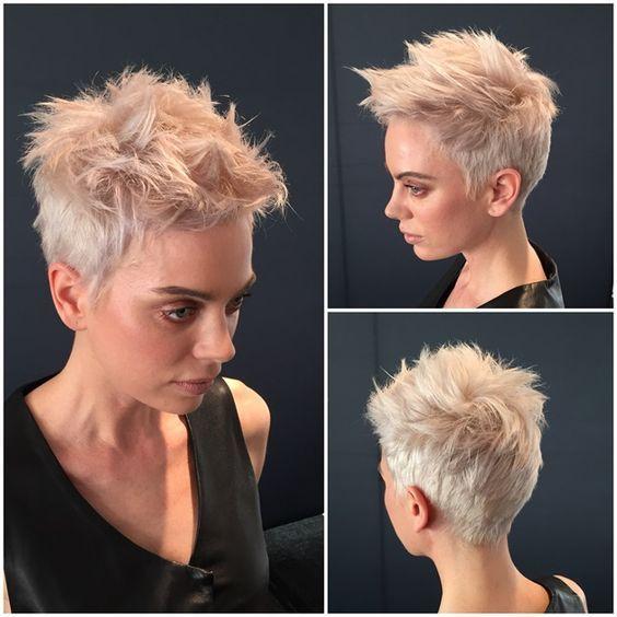 Chickslovehair! 10 kurze Schnitte für Frauen, die zeigen, dass sie etwas Besonderes sind! – Damen Frisuren