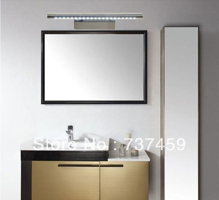 107 best bathroom lighting over mirror images on for Bathroom lights above mirror