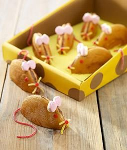 Eierkoek muis | Mouse treat #traktatie