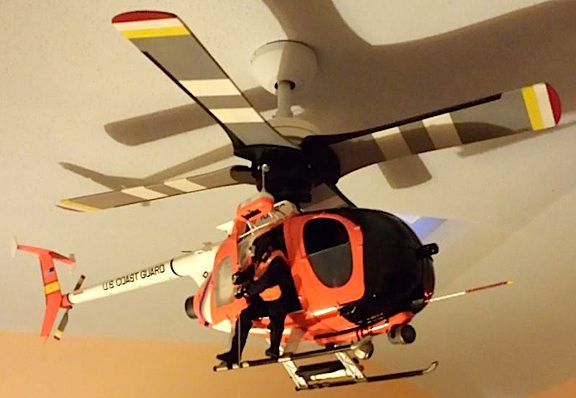"""""""First-Time"""" G.I. Joe Collector Creates Working 1:6 Scale USCG Helicopter———As…"""