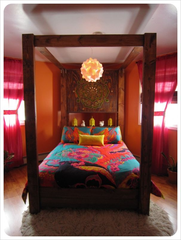 Bohemian style bedroom..LOVE THIS!!!!