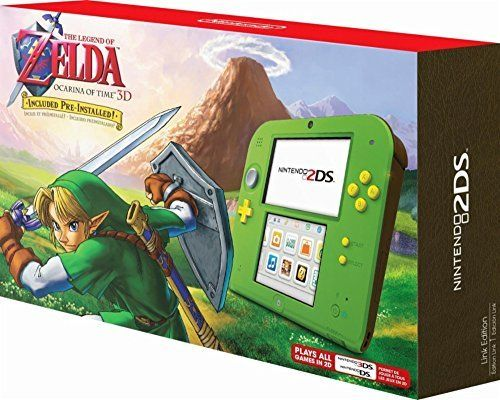 Nintendo 2DS with the Legend of Zelda Ocarina of Time 3D (Link Edition): Nintendo 3DS: Computer and Video Games - Amazon.ca