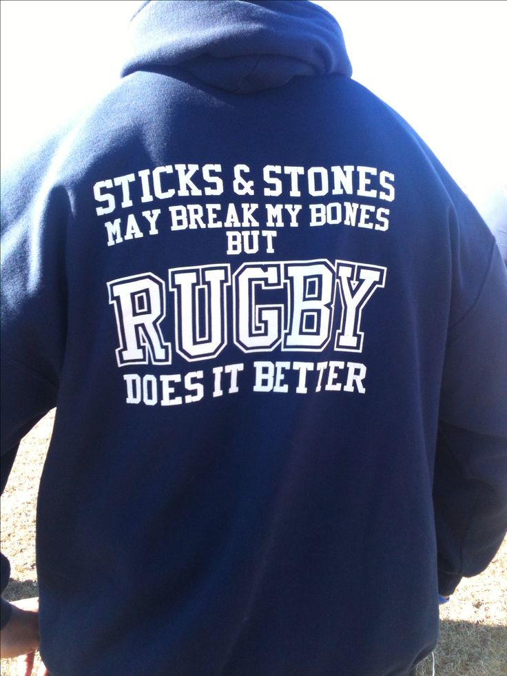 Nothing/no one can stop my sexy man from playing or coaching..not even a broken bone =) -  For the best rugby gear check out http://alwaysrugby.com