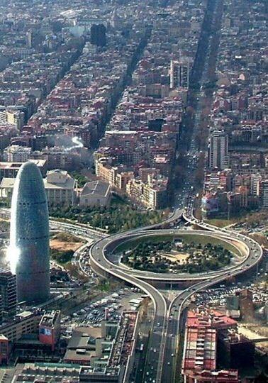 Ensanche y urbanización de Barcelona.