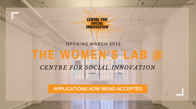 The Women's Lab - NYC http://nyc.socialinnovation.org/the-womens-lab