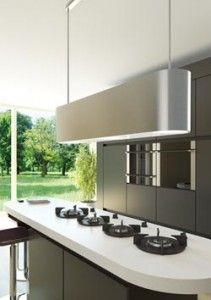 Eiland afzuigkap - Wave Kitchen Products