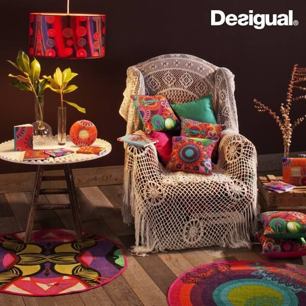 53 best desigual images on pinterest beds bedding and bedroom ideas - Desigual home decor ...