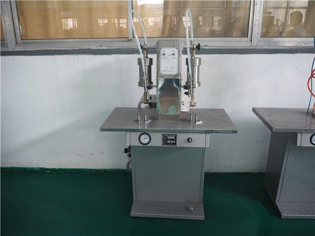 automatic shaving foam aerosol filling machine     More: https://www.aerosolmachinery.com/sale/automatic-shaving-foam-aerosol-filling-machine.html