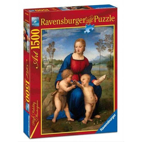 Raffaello: Madonna del Cardellino (Puzzle 1500 pezzi Ravensburger)