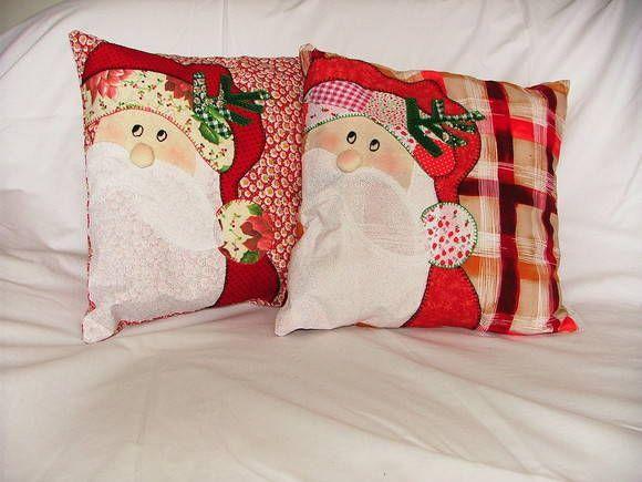 Adicionar Aos Favoritos Capas Para Almofadas Aplique Papai Noel 21
