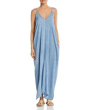 e130da13030 ELAN SLEEVELESS V-NECK MAXI DRESS.  elan  cloth