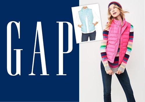 Χειμωνιάτικη θαλπωρή με γυναικείο αμάνικο μπουφάν γιλέκο Gap Μόνο με 39,00€