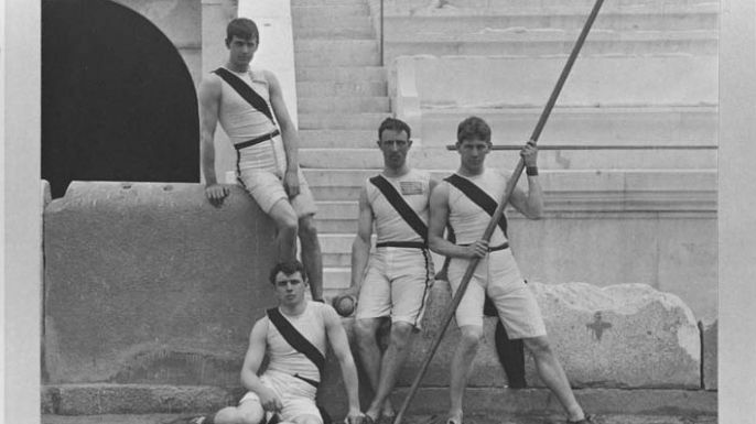 Author Jim Reisler answers questions about America's first Olympic team, the subject of his recent book.