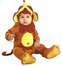 Monkey Baby Costume----Halloween Preview: The Cutest Babies!