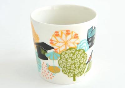 Arabia Finland hometown mugs