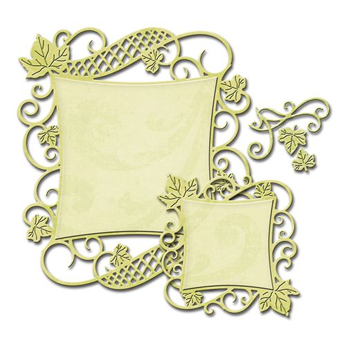 Decorative Curved Square | Spellbinders