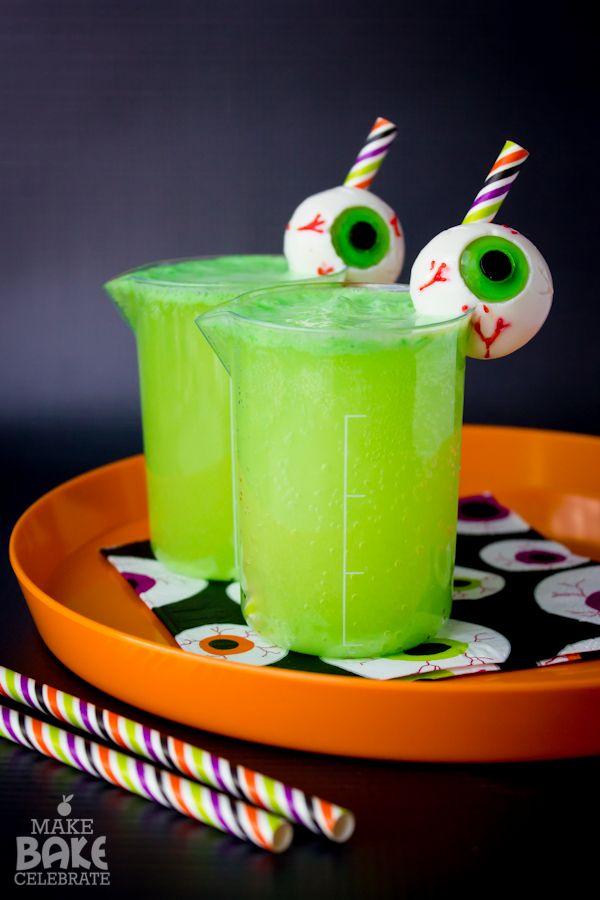 halloween punch green