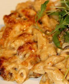 Simon Hopkinson's baked pasta with porcini