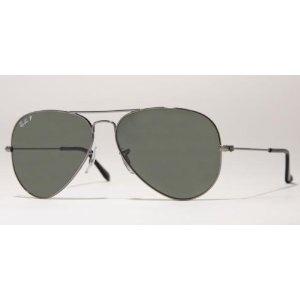 Ray Ban Sunglasses Aviator Large Metal RB3025 004/58 Gunmetal/Crystal Green Polarized, 58mm (Sports)  http://www.womendresscode.com/prod.php?p=B001IY6G0A