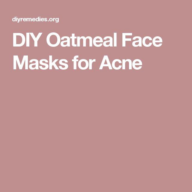 DIY Oatmeal Face Masks for Acne