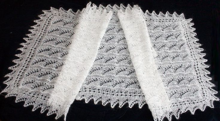 Как стирать оренбургский пуховый платок