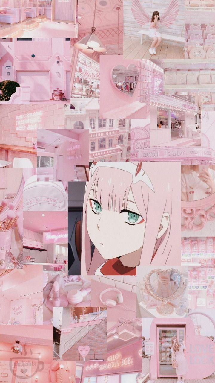 Zero Two Cute Anime Character Cute Anime Wallpaper Anime Wallpaper Iphone