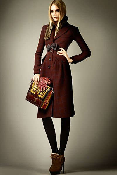 Burberry - Ready-to-Wear - 2012 Pre-Fall: Fashion, Burberryprorsum, Style, Delevingne Face, Burberry Prorsum, For Fall 2012, Coat, Burberry Pre Fall, Prefall