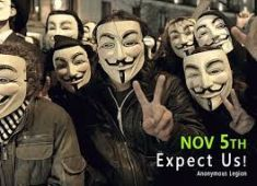 Anonymous 2015 Million Mask March coming Nov 5th