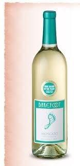 barefoot moscato! Our favorite Wine and Spirits Store wine.