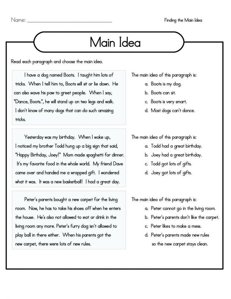 Pdf 4th Grade Reading Comprehension Worksheets Best Coloring P