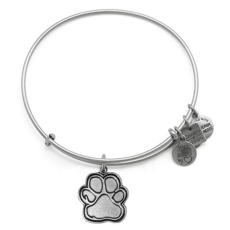 LOVE THIS!  Can't wait to get!  $ to the ASPCA - how cool is that!  Prints of Love Charm Bangle | Alex and Ani