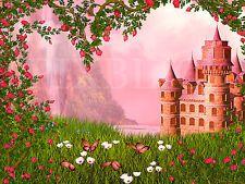 Fototapete Selbstklebend Schloss Prinzessinschloss Märchenschloss Kinderzimmer